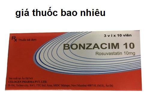Thuốc bonzacim 10 là thuốc gì? có tác dụng gì? giá bao nhiêu tiền?
