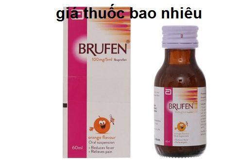Thuốc brufen 100/5ml là thuốc gì? có tác dụng gì? giá bao nhiêu tiền?