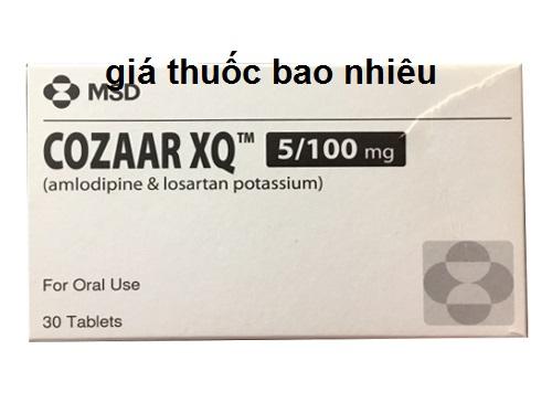 Thuốc Cozaar XQ 5mg/100mg là thuốc gì? có tác dụng gì? giá bao nhiêu tiền?
