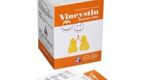Thuốc vincystin 200 là thuốc gì? có tác dụng gì? giá bao nhiêu tiền?