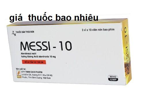 Thuốc messi 10 là thuốc gì? có tác dụng gì? giá bao nhiêu tiền?