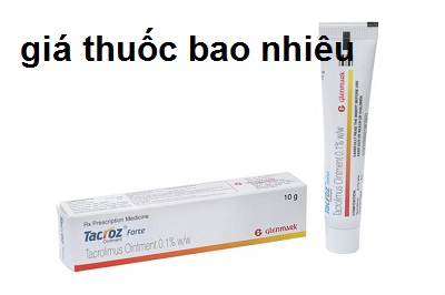 Thuốc tacroz forte 0.1% là thuốc gì? có tác dụng gì? giá bao nhiêu tiền?