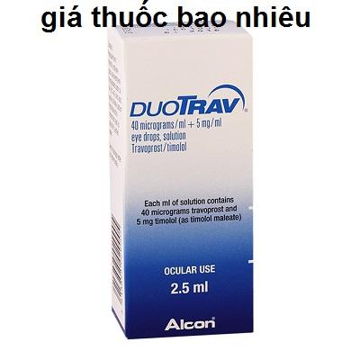 Thuốc duotrav 2.5ml là thuốc gì? có tác dụng gì? giá bao nhiêu tiền?