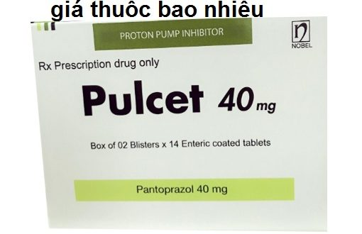 Thuốc pulcet 40 là thuốc gì? có tác dụng gì? giá bao nhiêu tiền?