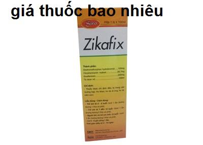 Thuốc zikafix 100ml là thuốc gì? có tác dụng gì? giá bao nhiêu tiền?