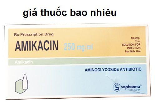Thuốc amikacin 250mg/ml là thuốc gì? có tác dụng gì? giá bao nhiêu tiền?