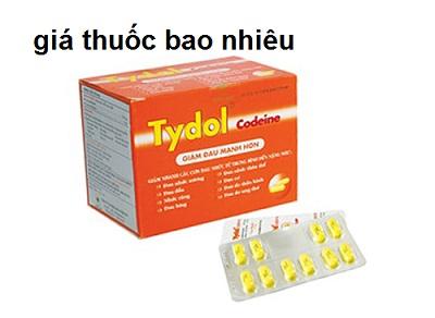 Thuốc tydol codeine 500 là thuốc gì? có tác dụng gì? giá bao nhiêu tiền?