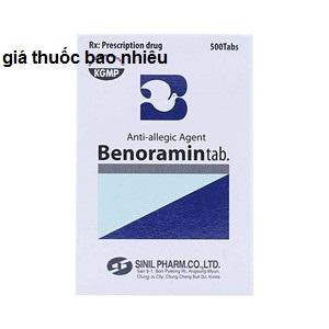 Thuốc benoramin là thuốc gì? có tác dụng gì? giá bao nhiêu tiền?