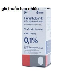 Thuốc flumetholon 0.1% 5ml là thuốc gì? có tác dụng gì? giá bao nhiêu tiền?