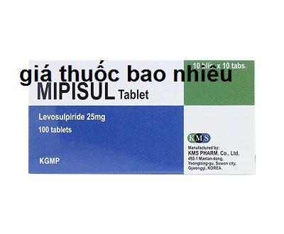 Thuốc mipisul 25 là thuốc gì? có tác dụng gì? giá bao nhiêu tiền?