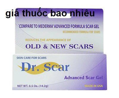 Thuốc Dr.Scar Advanced Gel là thuốc gì? có tác dụng gì? giá bao nhiêu tiền?