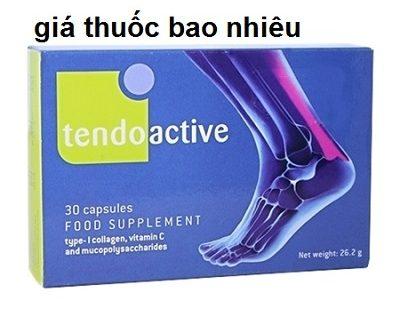 Thuốc tendoactive là thuốc gì? có tác dụng gì? giá bao nhiêu tiền?