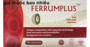 Thuốc ferrumplus là thuốc gì? có tác dụng gì? giá bao nhiêu tiền?