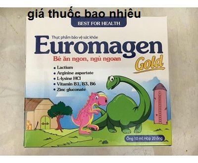 Thuốc euromagen gold 10ml là thuốc gì? có tác dụng gì? giá bao nhiêu tiền?