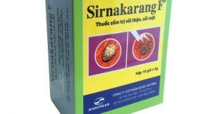 Thuốc sirnakarang f là thuốc gì? có tác dụng gì? giá bao nhiêu tiền?