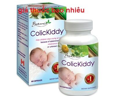Thuốc colickiddy là thuốc gì? có tác dụng gì? giá bao nhiêu tiền?