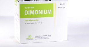 Thuốc dimonium 20ml là thuốc gì? có tác dụng gì? giá bao nhiêu tiền?
