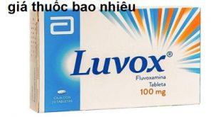 Thuốc luvox 100 là thuốc gì? có tác dụng gì? giá bao nhiêu tiền?