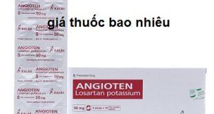 Thuốc angioten 50 là thuốc gì? có tác dụng gì? giá bao nhiêu tiền?