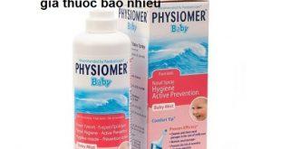 Physiomer Baby Spray 115ml là thuốc gì? có tác dụng gì? giá bao nhiêu tiền?