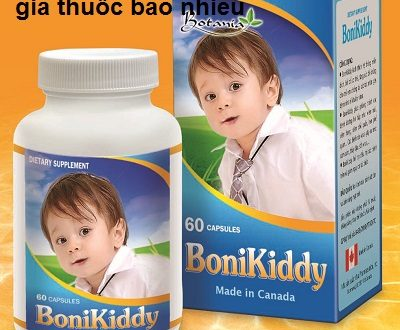 Thuốc bonikiddy là thuốc gì? có tác dụng gì? giá bao nhiêu tiền?