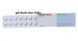 Thuốc Co Diovan 80/12.5 là thuốc gì? có tác dụng gì? giá bao nhiêu tiền?