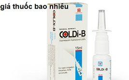 Thuốc coldi b 15ml là thuốc gì? có tác dụng gì? giá bao nhiêu tiền?