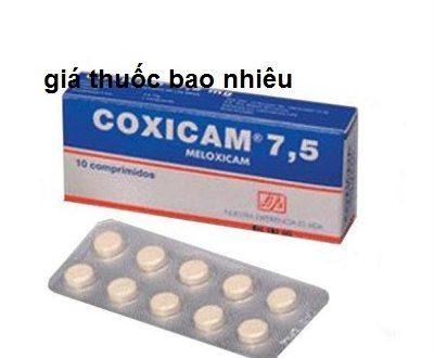 Thuốc coxicam 15 là thuốc gì? có tác dụng gì? giá bao nhiêu tiền?