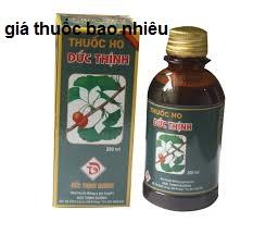 Thuốc ho Đức Thịnh 200ml là thuốc gì? có tác dụng gì? giá bao nhiêu tiền?