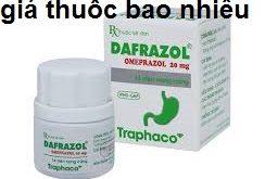 Thuốc dafrazol 20 là thuốc gì? có tác dụng gì? giá bao nhiêu tiền?