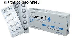 Thuốc glumerif 4 là thuốc gì? có tác dụng gì? giá bao nhiêu tiền?