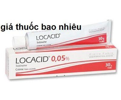 Thuốc locacid cream 30g là thuốc gì? có tác dụng gì? giá bao nhiêu tiền?