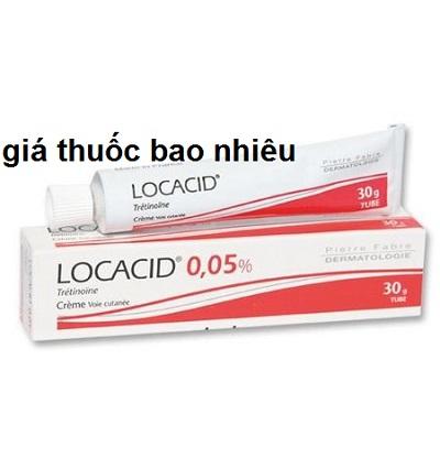Thuốc locacid cream 30g là thuốc gì? có tác dụng gì? giá ...