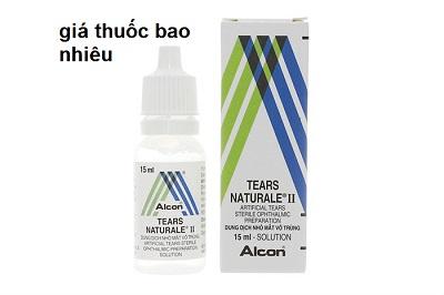 Thuốc Tears Naturale II 15ml là thuốc gì? có tác dụng gì? giá bao nhiêu tiền?