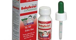 Thuốc baby fever là thuốc gì? có tác dụng gì? giá bao nhiêu tiền?
