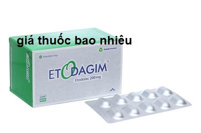 Thuốc etodagim 200 là thuốc gì? có tác dụng gì? giá bao nhiêu tiền?