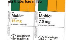 Thuốc mobic 15mg là thuốc gì? có tác dụng gì? giá bao nhiêu tiền?