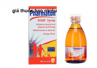 Thuốc pharmaton kiddi syrup 100ml là thuốc gì? có tác dụng gì? giá bao nhiêu tiền?