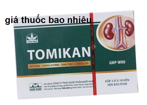 Thuốc tomikan là thuốc gì? có tác dụng gì? giá bao nhiêu tiền?