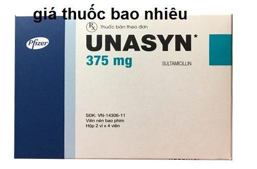 Thuốc unasyn 375 là thuốc gì? có tác dụng gì? giá bao nhiêu tiền?