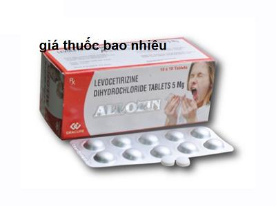 Thuốc allozin 5mg là thuốc gì? có tác dụng gì? giá bao nhiêu tiền?