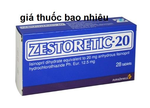 Thuốc zestoretic 20mg là thuốc gì? có tác dụng gì? giá bao nhiêu tiền?