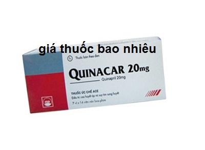Thuốc quinacar 20 là thuốc gì? có tác dụng gì? giá bao nhiêu tiền?