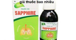 Thuốc sapphire 100ml là thuốc gì? có tác dụng gì? giá bao nhiêu tiền?
