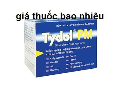 Thuốc tydol pm 500 là thuốc gì? có tác dụng gì? giá bao nhiêu tiền?