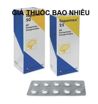 Thuốc topamax 50 mg là thuốc gì? có tác dụng gì? giá bao nhiêu tiền?
