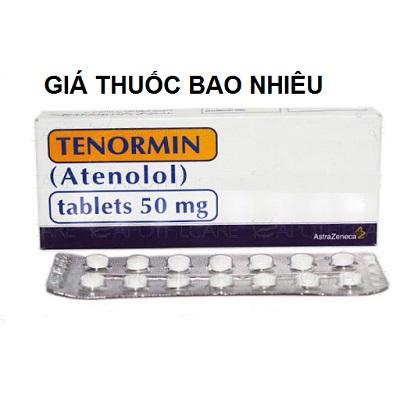 Thuốc tenormin 50mg là thuốc gì? có tác dụng gì? giá bao nhiêu tiền?