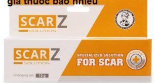 Thuốc scarz solution 12g là thuốc gì? có tác dụng gì? giá bao nhiêu tiền?