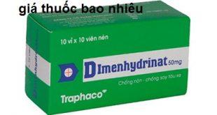 Thuốc dimenhydrinat 50mg là thuốc gì? có tác dụng gì? giá bao nhiêu tiền?