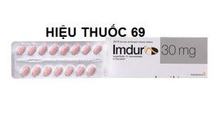 Thuốc imdur 30 là thuốc gì? có tác dụng gì? giá bao nhiêu tiền?